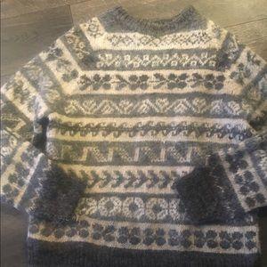 Vintage wool ski sweater